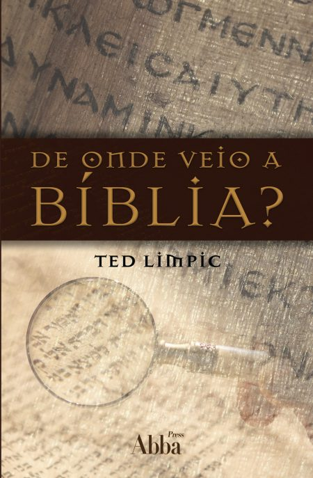 Capa Livreto de onde veio a biblia.indd