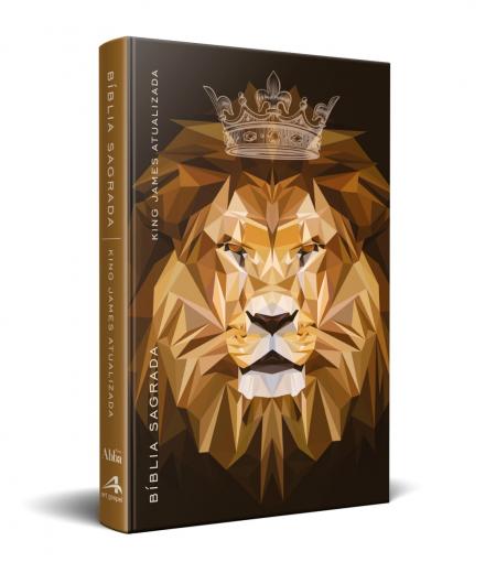 KJA leão marrom coroa